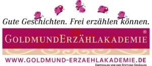 Logo der Goldmund-Erzählakademie