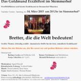 Goldmund-Erzählfest im Stemmerhof