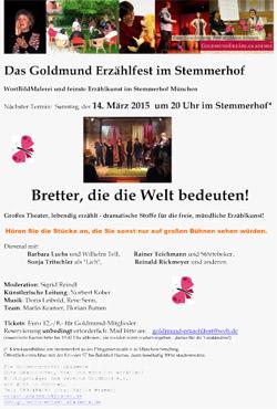 Plakat Goldmund-Erzählfest-im-Stemmerhof