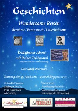Wundersame Reisen - Erzählabend mit Rainer Teichmann