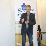 Erzählkünstler Rainer Teichmann aus Wasserburg, Lebenssterne als Festakt bei der Käsesommelier-Ausbildung