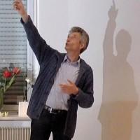 Rainer Teichmann auf dem Erzählfest in Bensheim