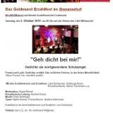Goldmund Erzählfest im Stemmerhof