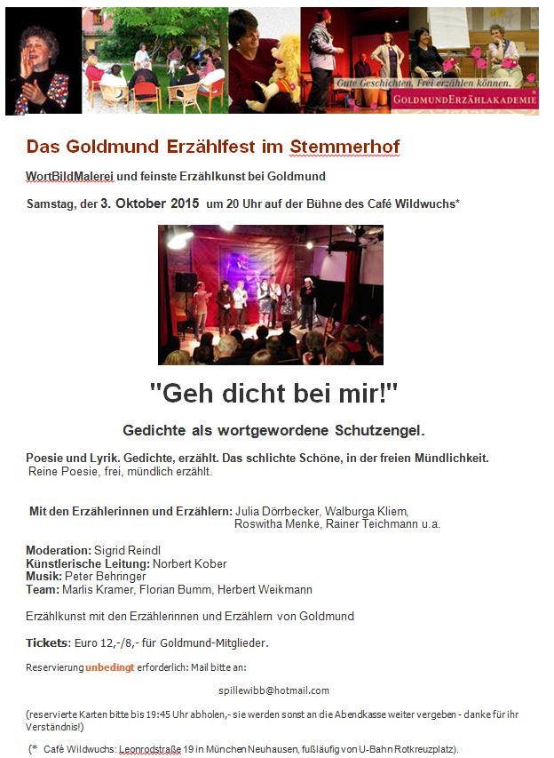 Rainer Teichmann Lebenssterne Stemmerhof 03102015