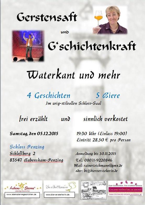Rainer Teichmann Lebenssterne Gerstensaft und G'schichtenkraft in Wasserburg