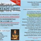 Wasserburg liest am 13.10.2016