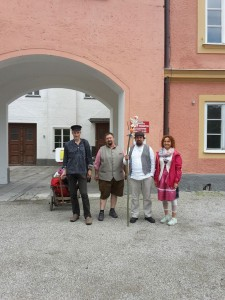 Rainer Teichmann aus Wasserburg auf Mundwerkerwalz im Team