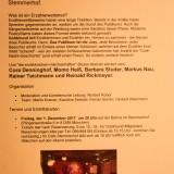 Erzählerwettstreit am 01.12.2017 im Stemmerhof