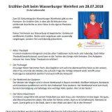 Wasserburger Weinfest 2018